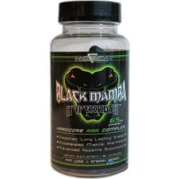 INNOVATIVE, Black Mamba Fat Burner Energy, банка 90капс