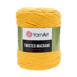 YarnArt Twisted Macrame 764 (янтарный), хлопок 60%, вискоза 40%, 500 гр.210м. шпагат