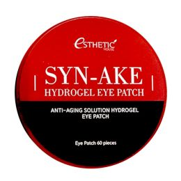 Патчи для глаз со змеиным пептидом Esthetic House Syn-Ake Hydrogel Eye Patch 60 шт.