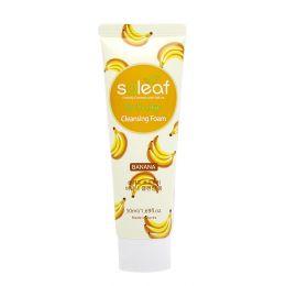 SOLEAF So Fruity Очищающая пенка для лица с бананом Мини 50 мл