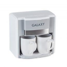 Кофеварка электрическая GALAXY GL0708 (белая)