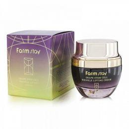 FarmStay Grape Steam Cell Wringkle Lifting Cream 50ml Лифтинг-крем против морщин с фито-стволовыми клетками винограда