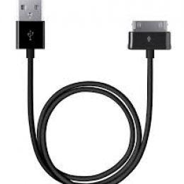 Дата-кабель для Samsung Galaxy Tab/Note 10.1, 1.2м, черный, Prime Line