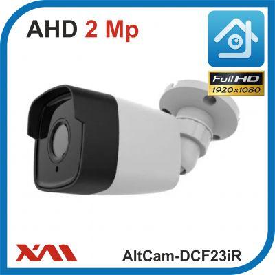 AltCam DCF23IR.(Пластик/Белая). 1080P. 2Mpx. Камера видеонаблюдения.