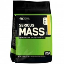 ON Serious MASS gainer, дойпак 5,44кг. Chocolate peanut butter