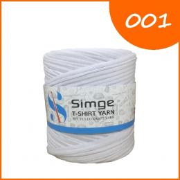 Трикотажная пряжа Simge, цв.: 001 белый