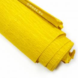 Крепированная бумага, цв.: св.горчица 04, Китай, 2,5 м х 50 см
