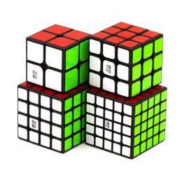 QiYi MoFangGe 2x2x2-5x5x5 SET Черный