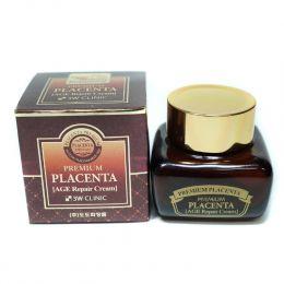3W Clinic Premium Placenta Age Repair Cream 50g Крем для лица с плацентой АНТИВОЗРАСТНОЙ