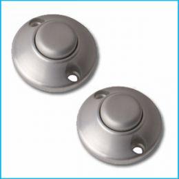XMEye-EXIT-H2. Серый. Подсветка зеленая. Кнопка выхода металлическая, накладная, НР.
