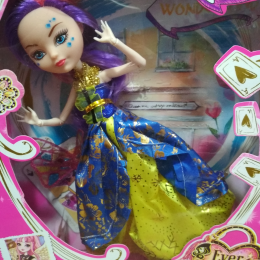 """Кукла """"Ever After High 4 вида, с аксесс, на шарнирах"""