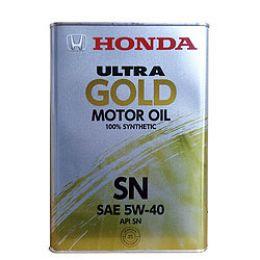 Моторное масло Ultra Gold SM 5W40 4L (синтетика) 08214-99904