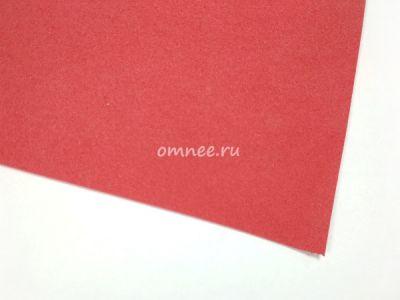 Фоамиран 1 мм, 20х30 см, цв.: вк002 красный