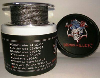 намотка Daemon Killer Mix twisted wire 0.2*0.8+26GA