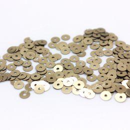 Пайетки плоские 2071 Metallizzati 4 мм 3 гр (Италия)