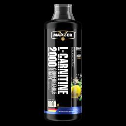 MAXLER, L-Carnitine 2000, бутылка 1000мл. Lemon-green tea