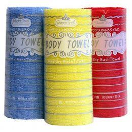 Shower Towel Body Healthy Bath towel Мочалка полотенце Радуга 1 шт
