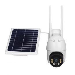 Solar Camera YN-90-4G. Камера видеонаблюдения IP Wi-fI 4G с солнечной батареей.