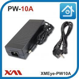 XMEye-PW10A. 12 Вольт. 10 Ампер. Импульсный блок питания для камер видеонаблюдения.