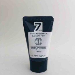 May Island 7 Days Secret Peptide 8 Plus Cleansing Foam 30ml Очищающая пенка с пептидным комплексом
