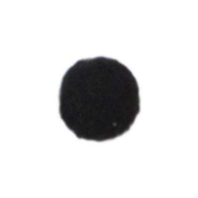 Помпоны 13 мм, уп. 25шт. цв.: чёрный