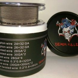 намотка Daemon Killer Clapton wire 24GA+32GA