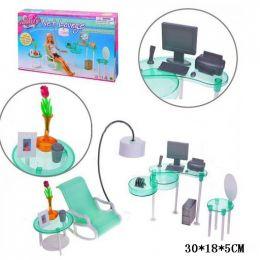 """Меблі """"Gloria"""" 2818 (36шт / 3) стілець, стіл, комп'ютер, аксесуари, в кор. 30 * 18 * 5 см"""