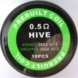 Готовый Коил: Hive Kanthal wire 30/30AWG*2 0.5oHm