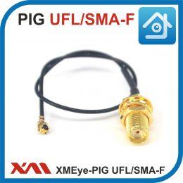XMEye-PIG-UFL/SMA-F-150. Коммутационный кабель (пигтейл) с разъемами UFL/SMA Female.