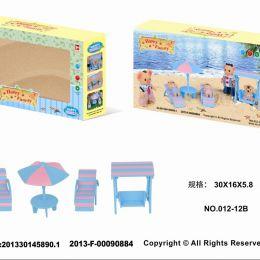 Животные флоксовые 012-12B (48шт) Happy Family, в короб.18*15*4,5см
