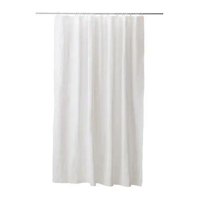 ЭГГЕГРУНД Штора для ванной, белый 180 х 200 см