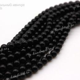 Хрустальный жемчуг Preciosa 5 мм Magic Black 20 шт