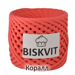 Т-пряжа Biskvit, цвет: коралл