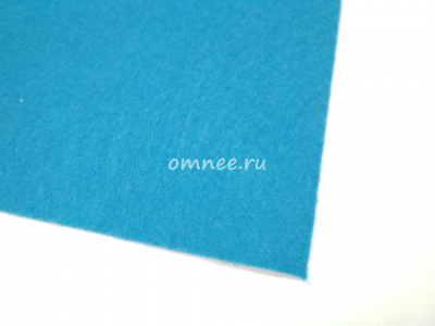 Фетр листовой жёсткий 1,2 мм, 20х30 см, цв.: 683 голубой