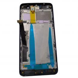 Дисплей Lenovo Vibe S1 Lite (S1La40) в сборе с тачскрином Черный ( с рамкой )