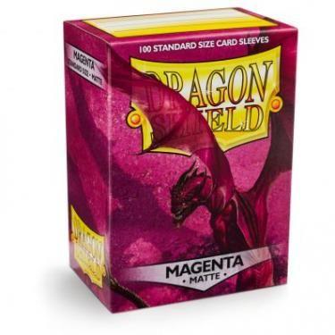 Протекторы Dragon Shield матовые Magenta