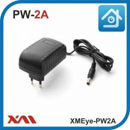 XMEye-PW2A(Корпус/Вилка). 12 Вольт. 2 Ампера. Импульсный блок питания для камер видеонаблюдения.