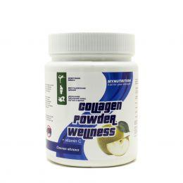 MYNUTRITION, Collagen powder wellness, банка 200гр. Яблоко