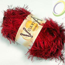 Пряжа травка Visantia, цв.: винный 0024
