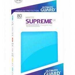 Ultimate Guard - Голубые матовые протекторы 80 штук в коробочке