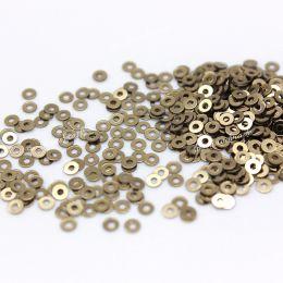 Пайетки плоские 2071 Metallizzati 2 мм 2 гр (Италия)