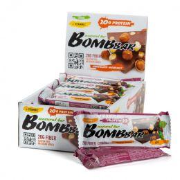 BOMBBAR, батончик 60г. Chocolate-hazelnut