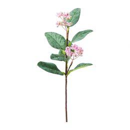 СМИККА Цветок искусственный, эвкалипт розовый, розовый