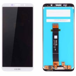 Дисплей для Huawei Y5 2018/Y5 Prime 2018/Honor 7A в сборе с тачскрином Белый