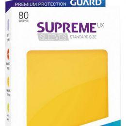 Ultimate Guard - Протекторы матовые желтые в коробочке 80 штук