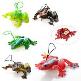 Животное 14-12 (1000шт) лягушка, 5см, 10шт в связке, микс видов