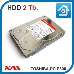 HDD 2 Tb. TOSHIBA PC P300 HDWD120UZSVA. Жесткий диск 3.5.