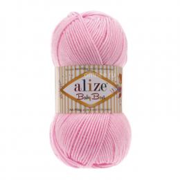 Alize Baby best 191 (св.розовый), 100гр. 240м. 90%акрил, 10% бамбук