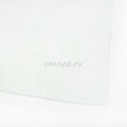Фетр листовой жёсткий 1,2 мм, 20х30 см, цв.: 660 белый