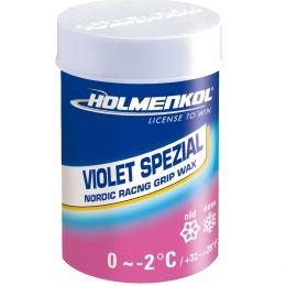 Мазь держания Violet Spezial 0/-2C, 45гр. (Holmenkol)
